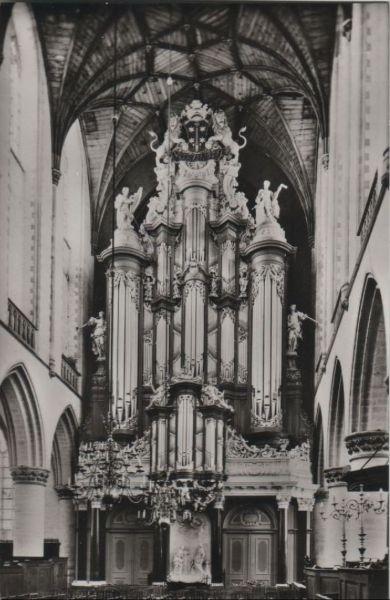 Niederlande - Niederlande - Haarlem - Grote- of St. Bavokerk - ca. 1960