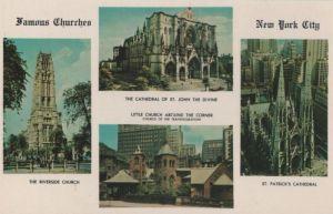 USA - USA - New York City - Famous Churches - ca. 1970