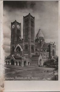 Niederlande - Niederlande - Haarlem - Kathedraal St. Bavo - 1949