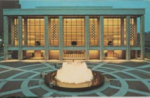 USA - USA - New York City - Lincoln Center - State Theater - ca. 1960
