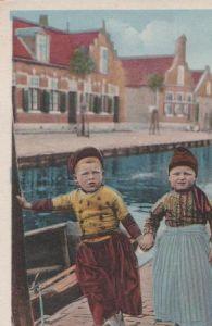 Niederlande - Niederlande - Volendam - Trijn en Bram - ca. 1935