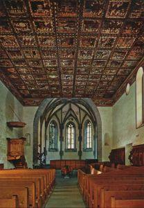 Schweiz - Schweiz - Zillis - älteste romanische Kirchendecke - ca. 1980