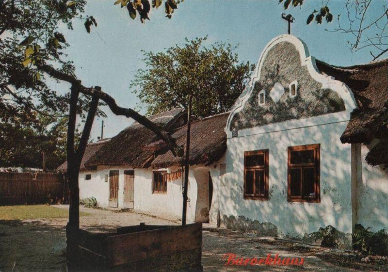 Österreich - Österreich - Illmitz - Puszta-Scheune - ca. 1975