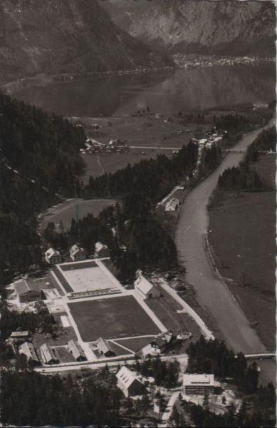 Österreich - Österreich - Obertraun - Flugaufnahme Bundessportheim - 1958