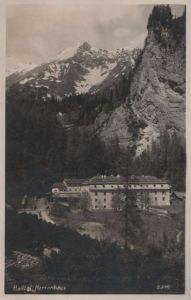 Österreich - Österreich - Halltal - Herrenhaus - ca. 1950