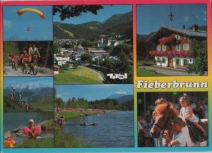Österreich - Österreich - Fieberbrunn - 6 Teilbilder - 1993