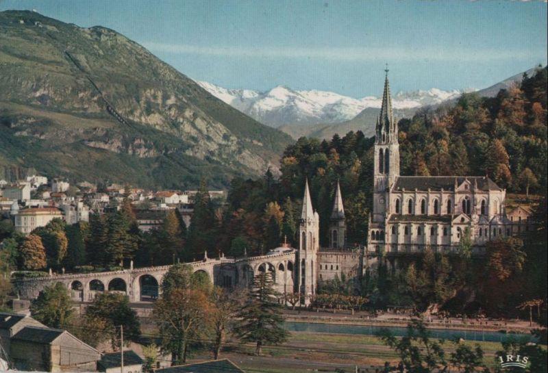 Frankreich - Frankreich - Lourdes - La Basilique - ca. 1980