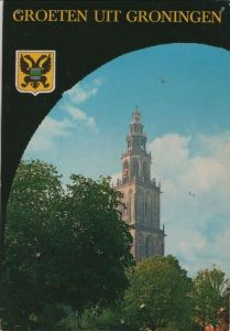 Niederlande - Niederlande - Groningen - Martintoren - 1978