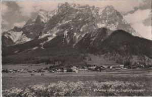 Österreich - Österreich - Ehrwald - mit Zugspitzmassiv - 1965