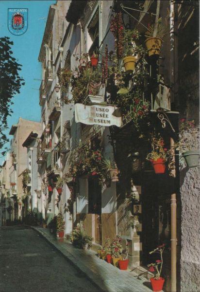 Spanien - Spanien - Alicante - Barrio tipico, Calle Toledo - ca. 1980