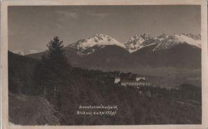 Österreich - Österreich - Zirl-Hochzirl - Sanatorium, Blick auf Kalkkögl - 1925