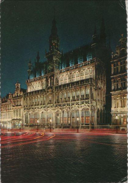 Belgien - Belgien - Brüssel - Bruxelles - Grand Place - Maison du Roi - ca. 1980