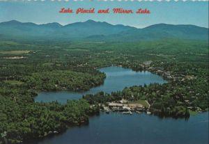 USA - USA - Lake Placid - and Mirror Lake - 1983