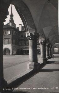 Österreich - Österreich - Bruck an der Mur - Blick vom Kornmesserhaus - 1961