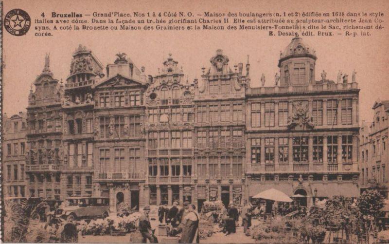 Belgien - Belgien - Brüssel - Bruxelles - Grand Place - ca. 1935