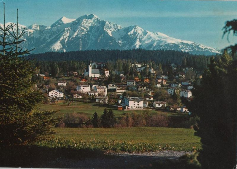 Schweiz - Schweiz - Flims - Waldhaus mit Signina - 1976