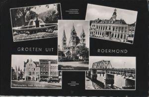 Niederlande - Niederlande - Roermond - u.a. Munsterplein met fontein - ca. 1965
