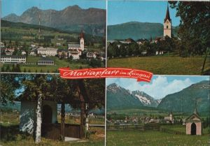Österreich - Österreich - Mariapfarr - 4 Teilbilder - 1983