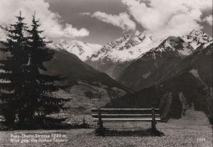Österreich - Österreich - Pass Thurn Straße - Blick gegen die Hohen Tauern - ca. 1965