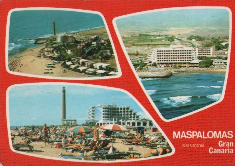 Spanien - Spanien - Maspalomas - mit 3 Bildern - ca. 1980