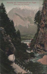 Schweiz - Schweiz - Bad Ragaz - Ausgang der Taminaschlucht - 1908