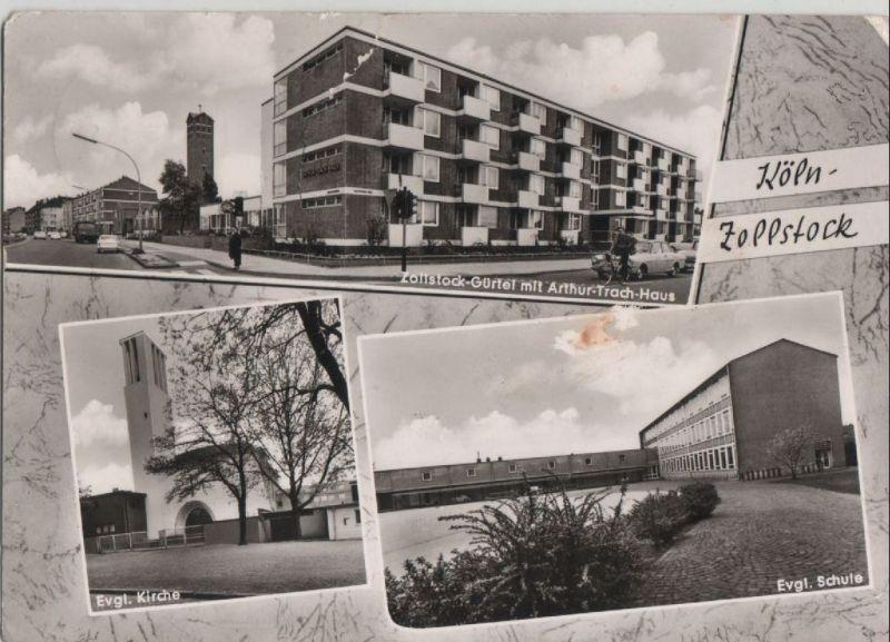 k ln zollstock u a arthur trach haus 1969 nr 0067280 oldthing ansichtskarten. Black Bedroom Furniture Sets. Home Design Ideas