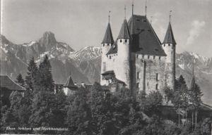 Schweiz - Schweiz - Thun - Schloss und Stockhornkette - 1964