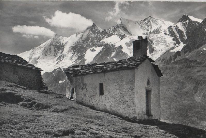Schweiz - Schweiz - Triftalp - Bergkapelle - ca. 1960