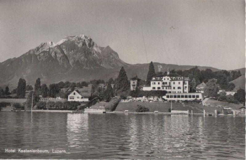 Schweiz - Schweiz - Luzern - Hotel Kastanienbaum - ca. 1960