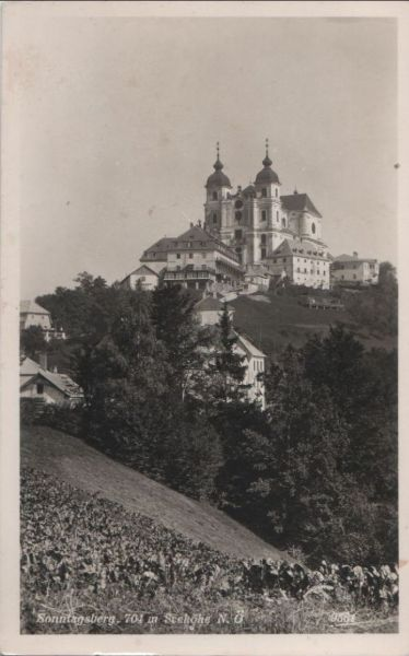 Österreich - Österreich - Sonntagberg - 1956