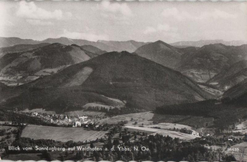 Österreich - Österreich - Waidhofen - Blick vom Sonntagberg - ca. 1960
