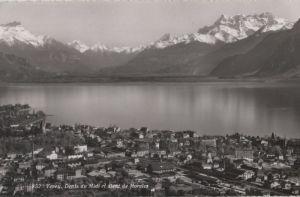Schweiz - Schweiz - Vevey - Dents du Midi et Dent de Morcles - 1959