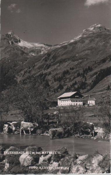 Österreich - Österreich - Matrei in Osttirol - Tauernhaus - 1959