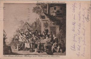 Niederlande - Niederlande - Haarlem - Herberge zum Halbmond - 1926