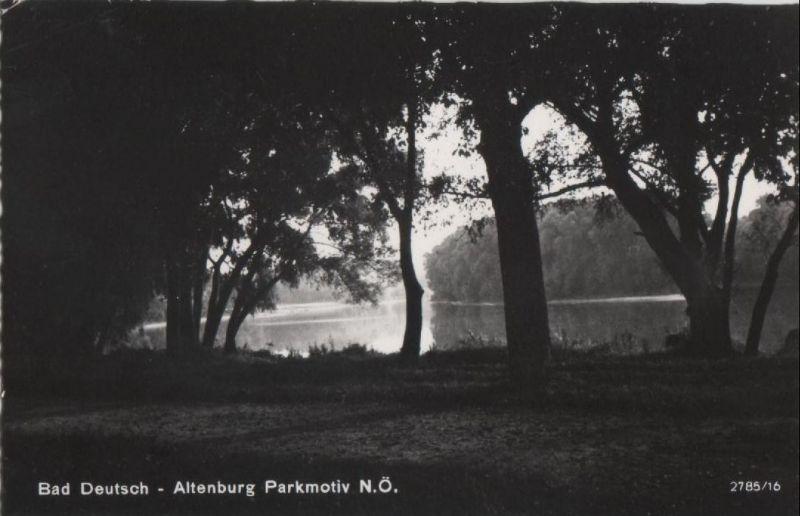 Österreich - Österreich - Bad Deutsch-Altenburg - Parkmotiv - 1964