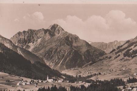 Österreich - Österreich - Riezlern m. Hirschegg und Widderstein - ca. 1955