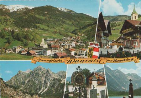 Österreich - Österreich - Wagrain und Umgebung - ca. 1975