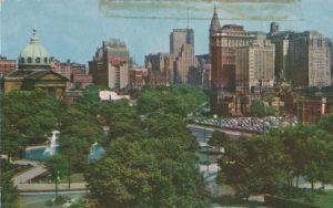 USA - USA, Pennsylvania - Logan Circle Philadelphia - ca. 1955
