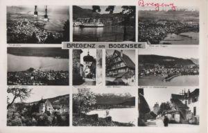 Österreich - Österreich - Bregenz - u.a. Blick gegen Lochau - 1960