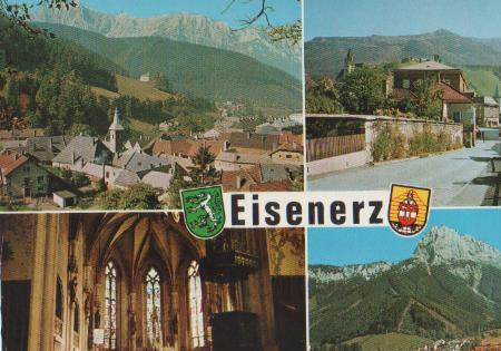 Österreich - Österreich - Eisenerz in der Steiermark - ca. 1975