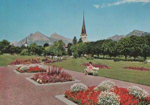 Schweiz - Schweiz - Bad Ragaz - Kurpark mit Gonzen - ca. 1975