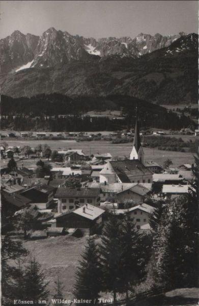 Österreich - Österreich - Kössen - am Wilden-Kaiser - ca. 1960