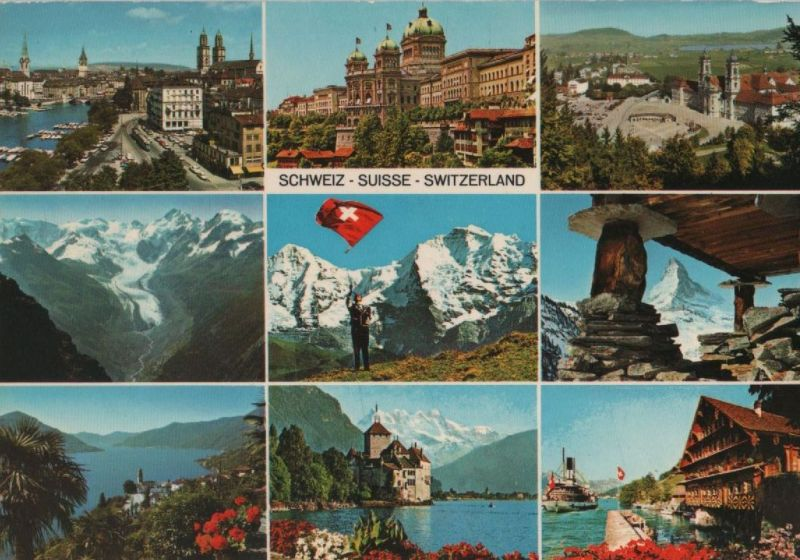Schweiz - Schweiz - Schweiz - u.a. Matterhorn - 1978