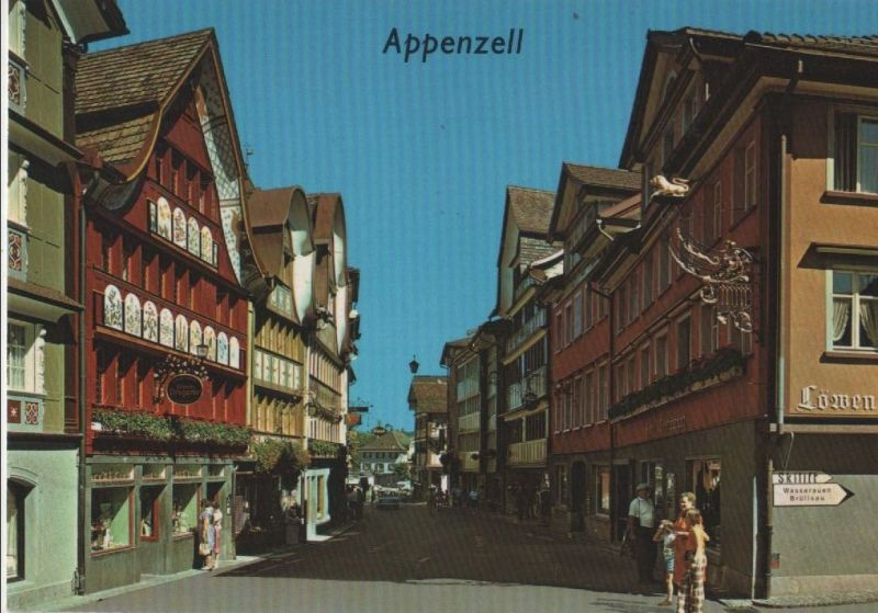 Schweiz - Schweiz - Appenzell - ca. 1985