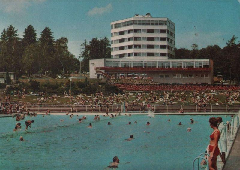 oberursel schwimmbad mit panorama hotel 1972 nr 0073710