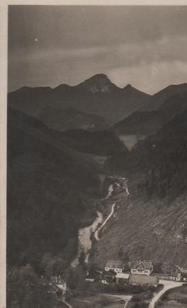 Österreich - Österreich - Großes Höllental - Singerin - ca. 1955