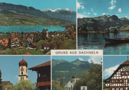 Schweiz - Schweiz - Gruss aus Sachseln - ca. 1975