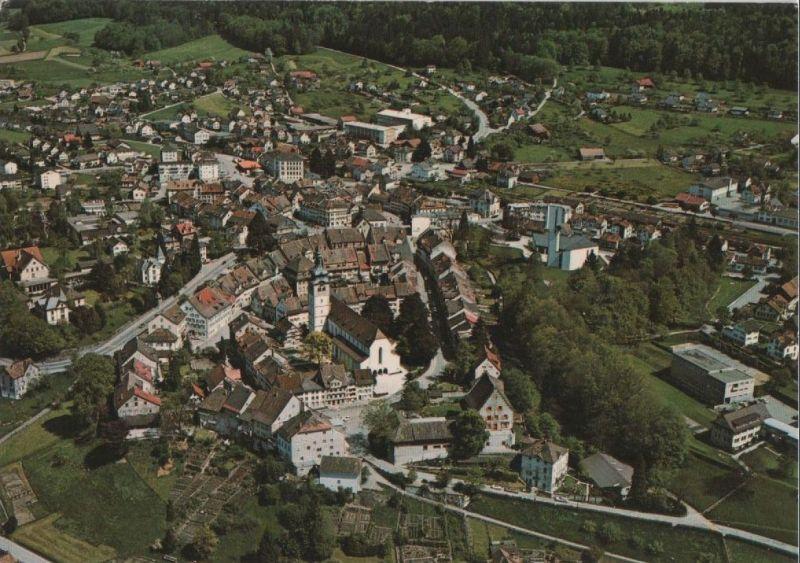 Schweiz - Schweiz - Bischofszell - Flugaufnahme - ca. 1980