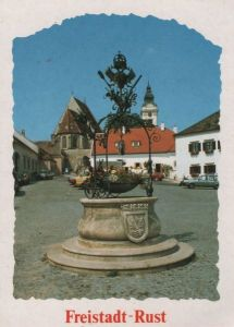 Österreich - Österreich - Rust - Adler-Brunnen - ca. 1985