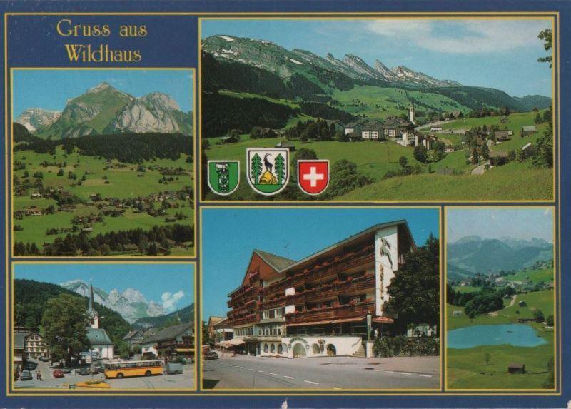 Schweiz - Schweiz - Wildhaus - 5 Teilbilder - 1991